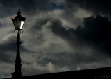 August 28 2010: Lamp, Sky and Clouds