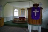 inside church - Grytviken