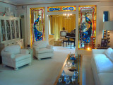 Graceland living room
