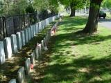 Confederate graves at Frederick, Maryland
