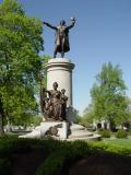 Memorial to Francis Scott Key, author of The Star Spangled Banner, Frederick, Ma