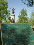 Francis Scott key memorial at Frederick, Maryland