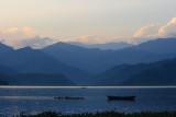 Sunset over Phewa Lake