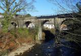 Pontypridd Railbridge over Rhondda River
