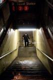 Stairway to subway