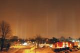Piliers de lumières / Light pilars