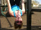 Upside down Jen