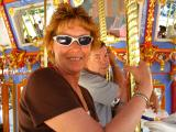 Mom and Pops on Carousel