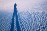 White Sands Shadow