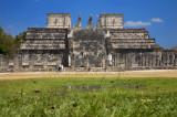 Temple of the Warriors Chichen Itza Mexico