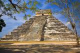 El Castillo Pyramid Chichen Itza Mexico