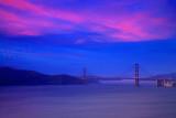 Lands End Golden Gate Sunset