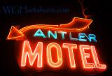 Antler Motel Neon
