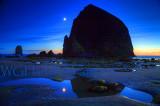 Canon Beach Moonlight