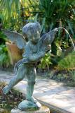 cherub in the Italian garden