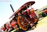 a beautiful traction engine