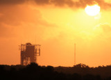 Sunrise Over Launch Pad 17A/B, Cape Canaveral Air Force Station