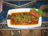 Fish in 3 spices - Excellent