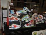 What's Shop Shoe Art display