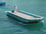 No dock at beach, get on this?...