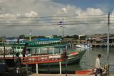 Pier at Ban Phe