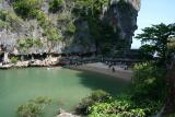 Tourists at James Bond Island