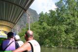 Tourist boat in Phang Nga bay
