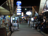 Downtown Phi Phi at night