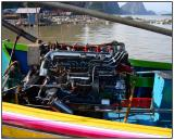 Long Tail Boat motor