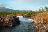waterfall on the Dulismar river