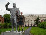 revolutionist Kirov & Oleg ... he should be executeed by shooting for that gibing not long ago;-)