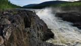 Big Kureika waterfall