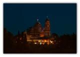 republic of Abkhazia, New Athos Monastery at night (Novy Afon)