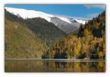republic of Abkhazia, Lake Ritsa