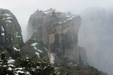 Meteora. Agia Trias monastery