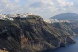Santorini. Imerovigli village