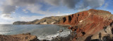 Santorini. Red beach