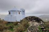 Santorini. Old village of Pirgos
