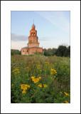 Village of Sennitsy.  Voznesenskaya church (Ascension) 1707