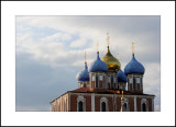 City of Ryazan. Ryazan Kremlin. Uspensky (Assumption) cathedral 1693—1699