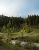 republic of Karachaevo-Cherkessia, Arkhyz, Psysh river