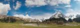 under the deep sky of Caucasus