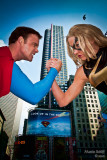 Superman and Ms. Marvel