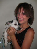 Michelle and her dog