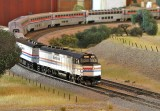 Donnell Wells Amtrak Superliner set.