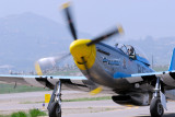 Chuck Hall and his F-51D Mustang Six Shooter