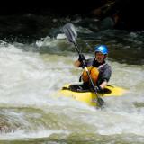 Solo Kayak on Nantahala