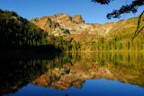 Sierra Buttes Reflection on Sardine Lake