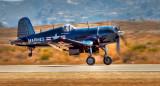 F4U-4 Corsair Takeoff Roll