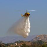 Cal Fire Helo Water Drop